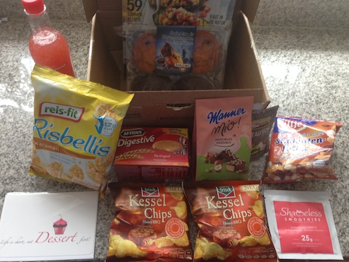 MyCouchbox-August-2014-Inhalt